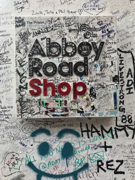 The Abbey Road Shop London.