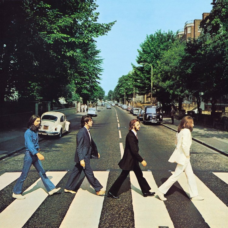 The Beatles Abbey Road front cover.