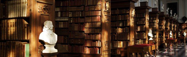 The Wren Library Trinity College Cambridge.