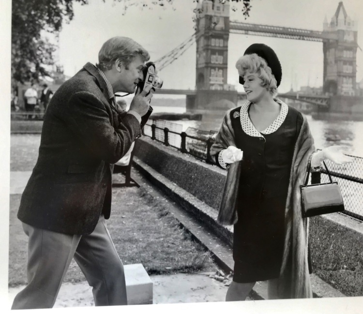 Tower Bridge London Alfie 1966 with Michael Caine and Shelley Winters.