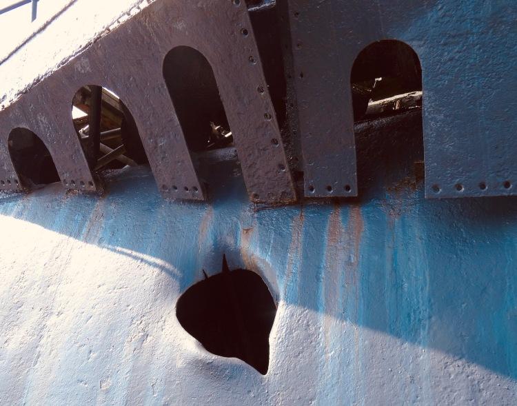 U-534 German submarine U-Boat Story Museum Liverpool.