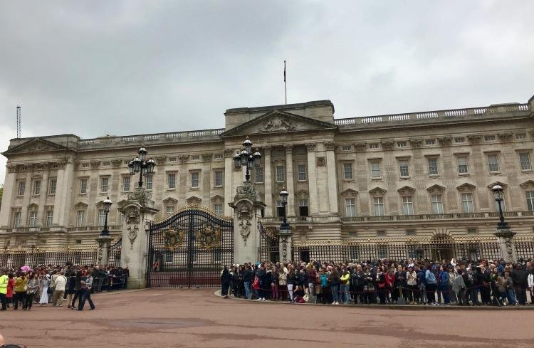Visit Buckingham Palace.
