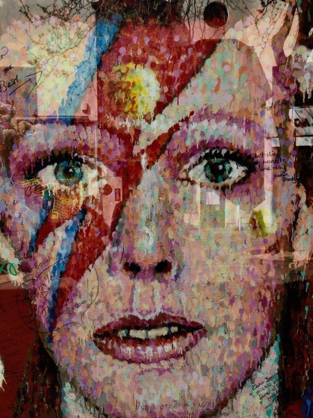 Visit David Bowie Mural Brixton London.