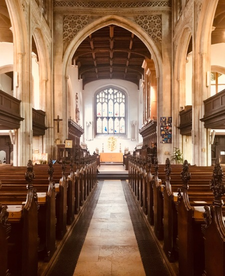 Visit Great St. Mary's Church Cambridge England.