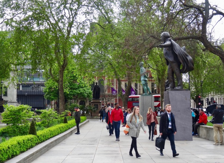 Visit Parliament Square Westminster London.