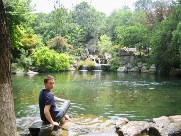 Baoutu Spring Park Jinan China.