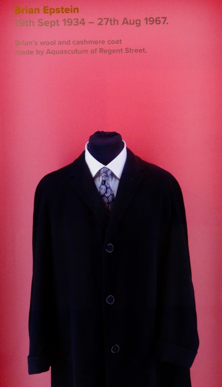 Brian Epstein's Cashmere Coat The Beatles Story Liverpool.