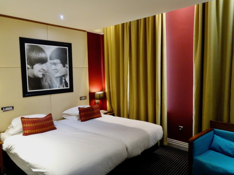 Double room Hard Days Night Hotel Liverpool.