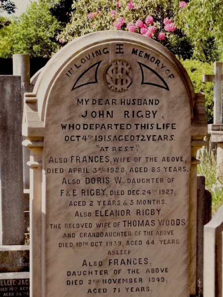 Eleanor Rigby grave St. Peter's Church Liverpool.