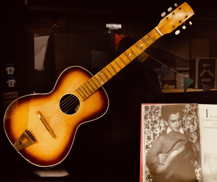 George Harrison's First Guitar The Beatles Story Liverpool.