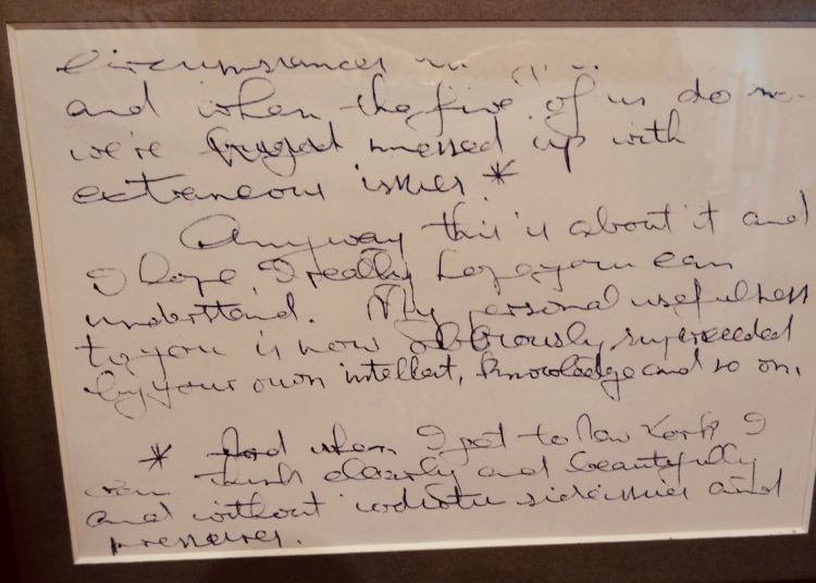 Handwritten Brian Epstein letter The Beatles Story Liverpool.