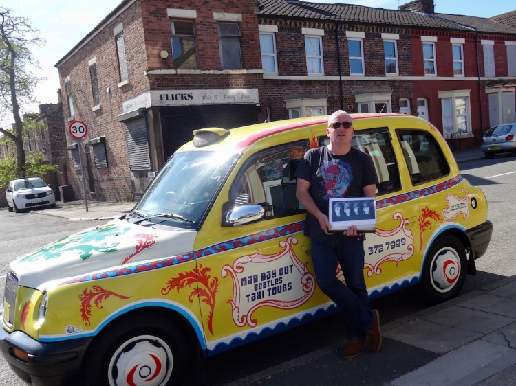 Ian Doyle's Mad Day Out Beatles Taxi Tour Liverpool.