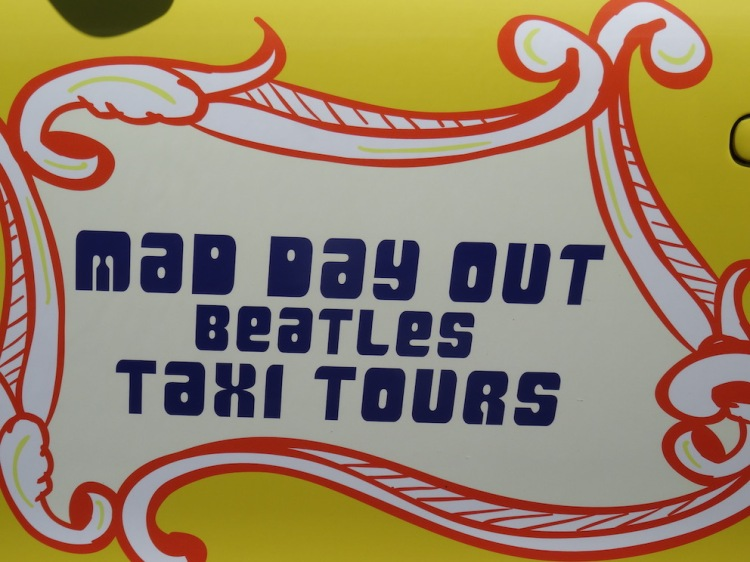 Ian Doyle's Mad Day Out Beatles Taxi Tours.
