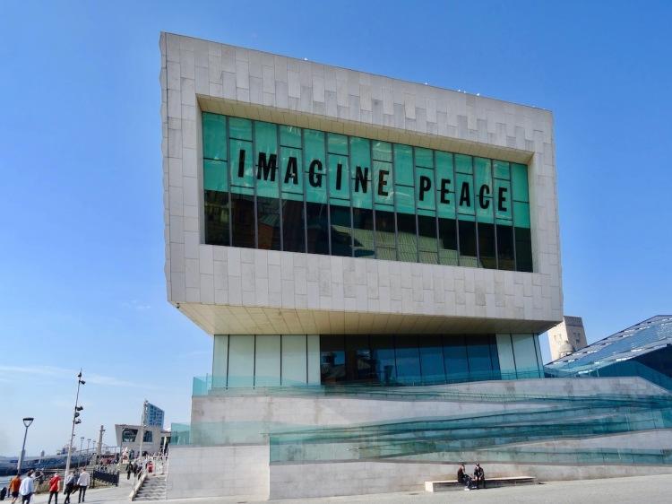 Imagine Peace Museum of Liverpool.