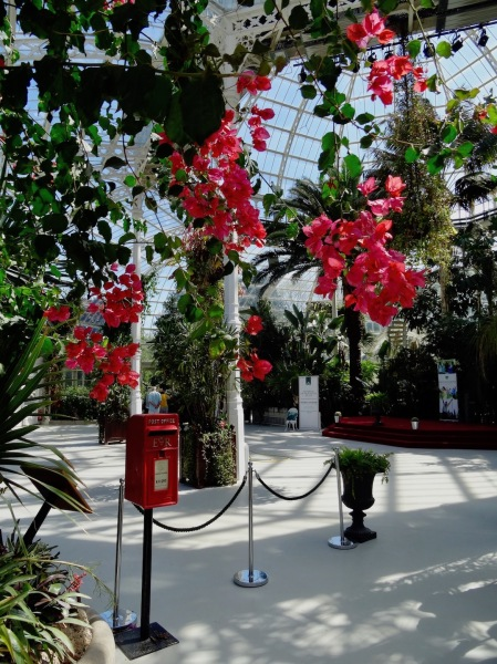 Inside Palm House Sefton Park Liverpool.