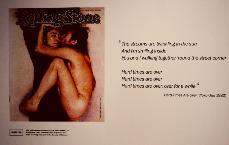 John Lennon's final interview Rolling Stone Magazine Double Fantasy Exhibition Museum of Liverpool.
