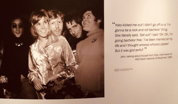 John Lennon's Lost Weekend Double Fantasy Exhibition Museum of Liverpool.