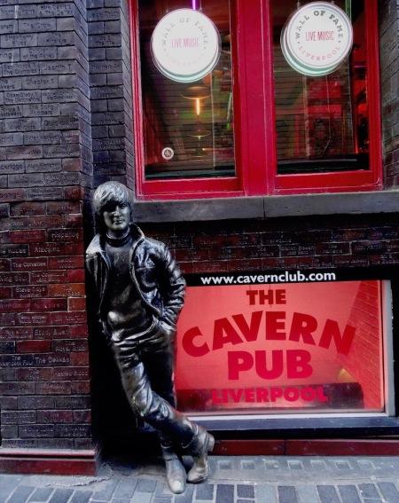 Live music at The Cavern Pub Mathew Street Liverpool.