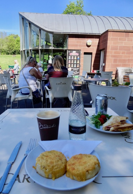 Lunch at Sefton Park Cafe Liverpool.