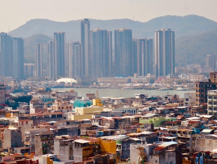 Macau views from Monte Fort.