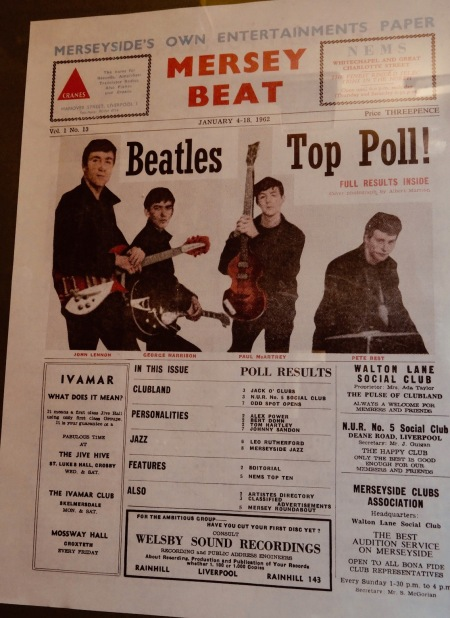 Mersey Beat Magazine The Beatles Story Museum.
