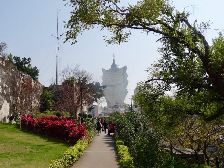 Monte Fort Gardens Macau.