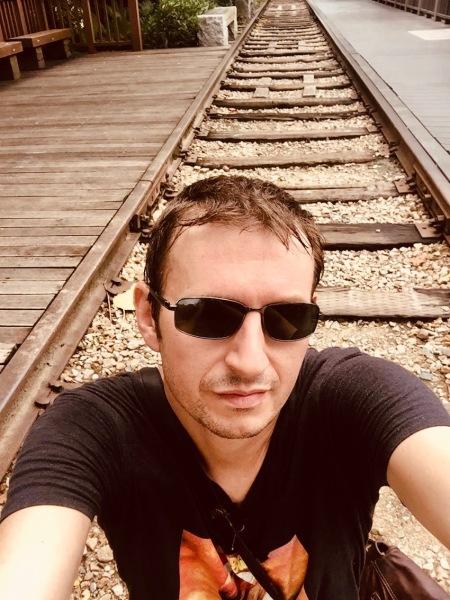 Railroad Culture Park Xiamen China.