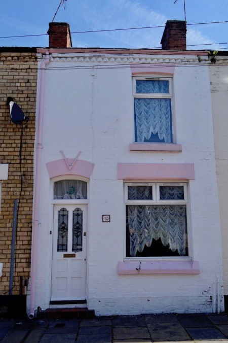 Ringo Starr's childhood home 10 Admiral Grove Liverpool.