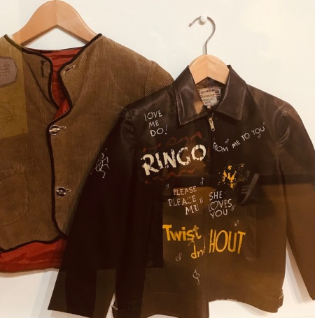 Russell Jamieson's leather jacket The Beatles Story Liverpool.
