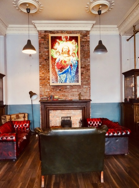Stay at Hatters Hostel Mount Pleasant Liverpool.