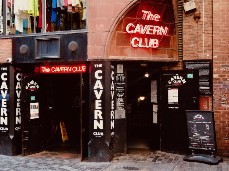 The Cavern Club Liverpool.