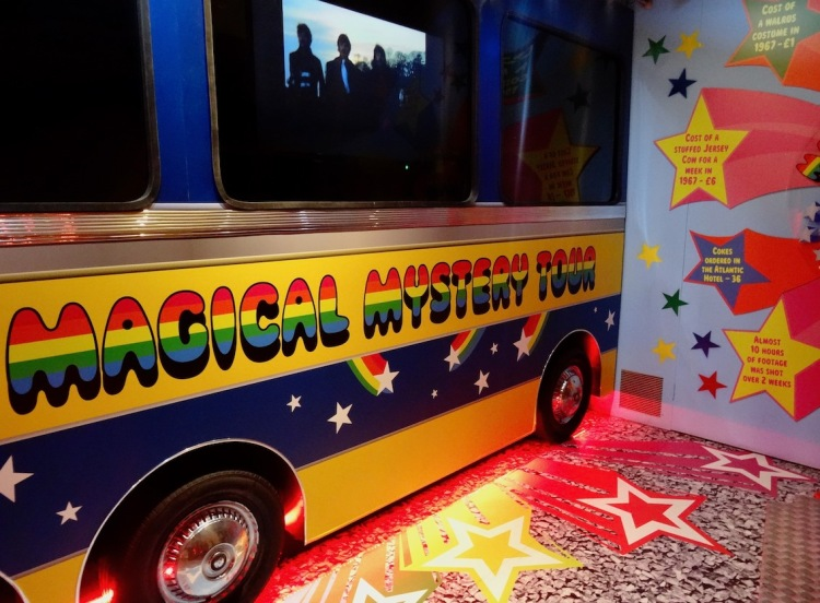 The Magical Mystery Tour Bus The Beatles Story Liverpool.