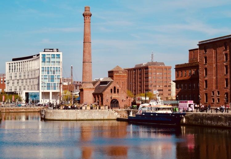 The Pumphouse Albert Dock Liverpool.