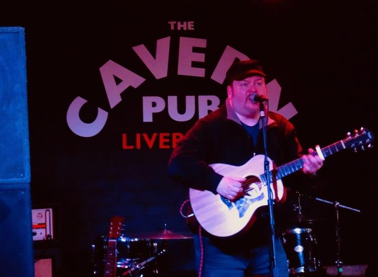 The Shadow Captain Stuart Tod The Cavern Pub Liverpool.