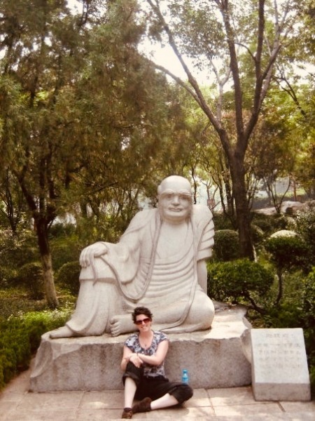 Thousand Buddha Park Jinan China.