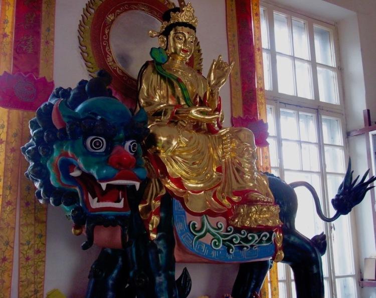 Visit Jile Temple Harbin China.