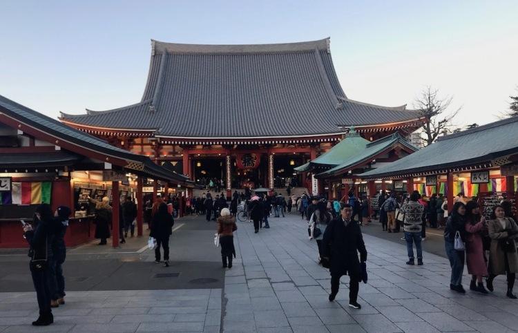 Visit Sensoji Temple Tokyo.