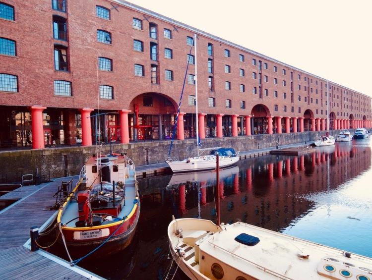 Visit The Royal Albert Dock in Liverpool.