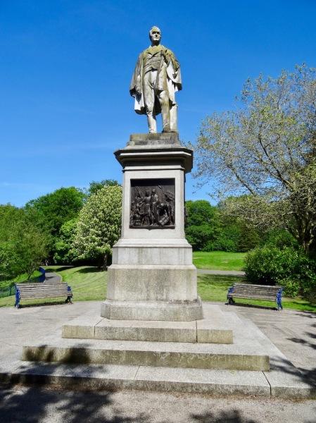 William Rathbone Statue Sefton Park Liverpool.