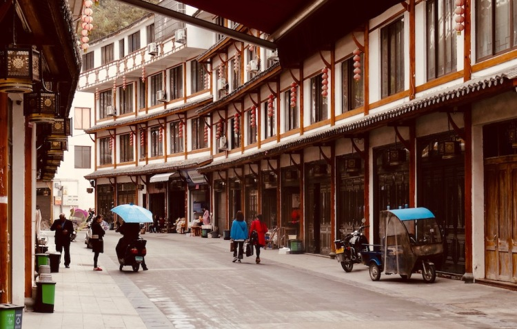 Sixi Town Taishun County China.