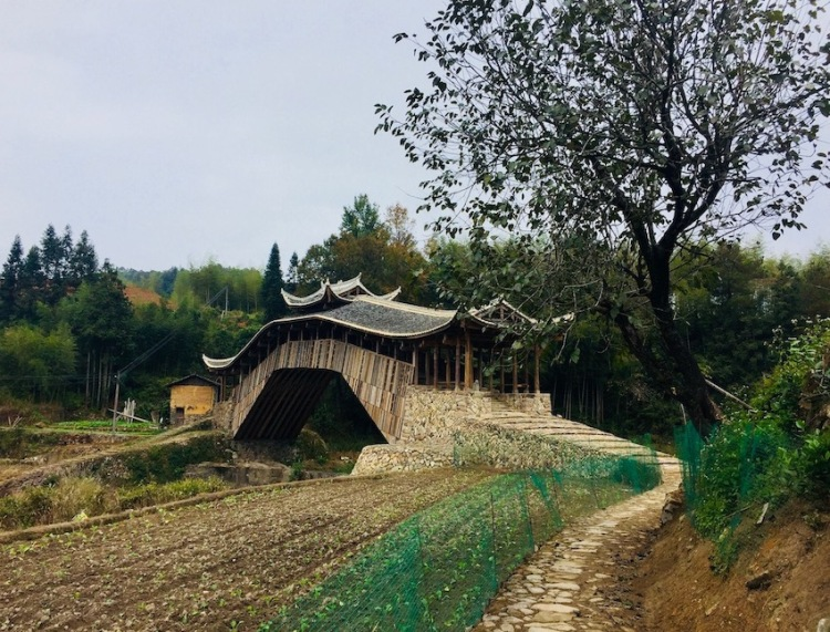 Visit Wenxing Bridge Taishun County China.
