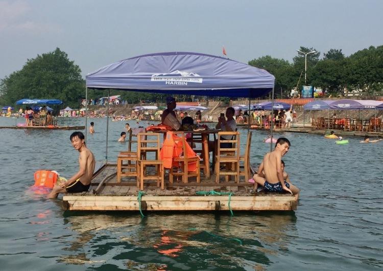 Xin Yang River Zhejiang Province China.
